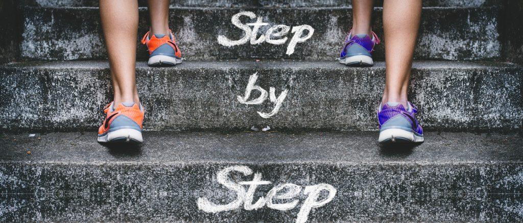 passo a passo chegas ao teu destino